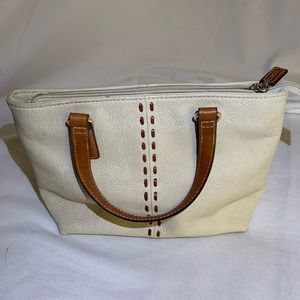 Fossil off white purse